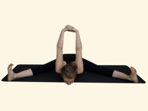 Pada-Prasar-Paschimottanasana-Legs-Spread-back-stretch-pose