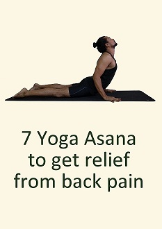 7 Yoga Asana for back pain