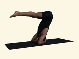 Sirshasana-Headstand-variation