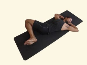 Supta-Udarakarshanasana–Sleeping-Abdominal-stretch-Pose