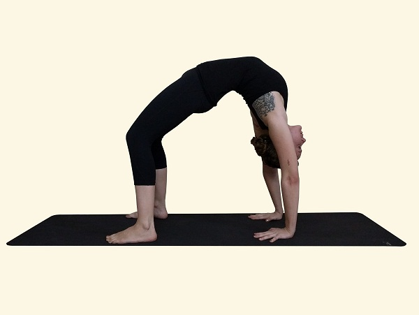 Afbeeldingsresultaat voor Upward-Facing Bow or Wheel (Urdhva Dhanurasana)