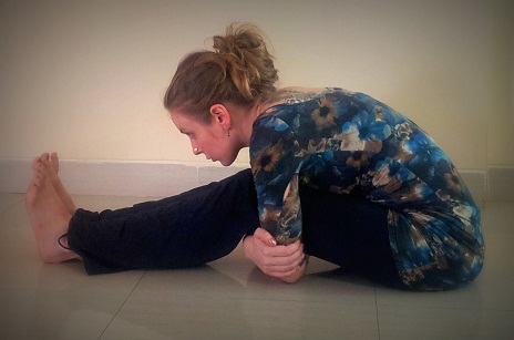 paschimottanasana a  yoga poses