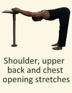 8 STRETCHES FOR SHOULDERS & UPPER BACK OPENING